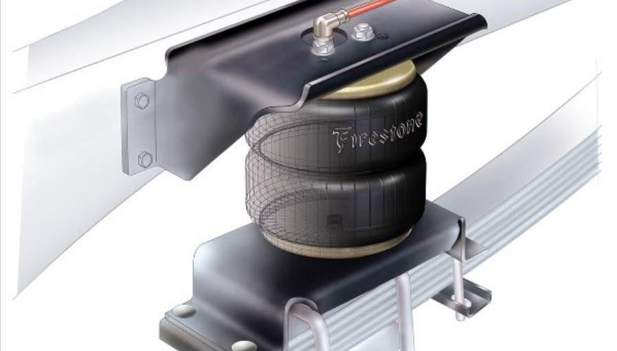 Eeltink Veertechniek levert hulpluchtveringsets voor zowel blad- als schroefgeveerde voertuigen