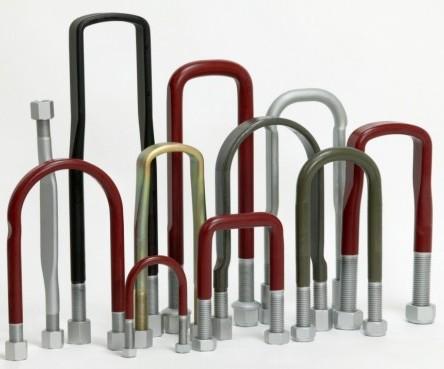 Honderden soorten veerstroppen en veerstropbouten, vervaardigt uit hoogwaardig staal
